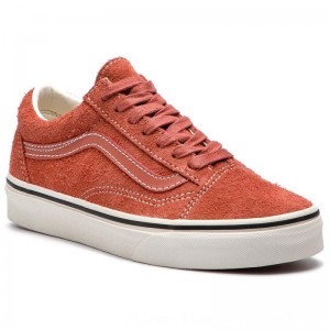 Vans Turnschuhe Old Skool VN0A38G1UNG1 (Hairy Suede) Hot Sauce/S [Outlet]