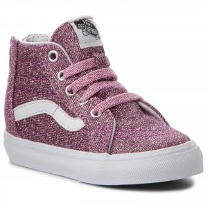 Vans Sneakers Sk8-Hi Zip VN0A32R3U3U (Lurex Glitter) Pink/True [Outlet]