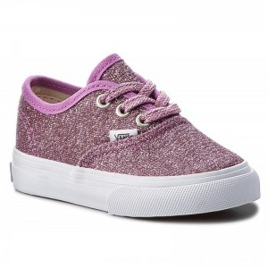 Vans Turnschuhe Authentic VN0A38E7U3U (Lurex Glitter) Pink/True [Outlet]