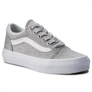 Vans Turnschuhe Old Skool VN0A38HBUAW (Lurex Glitter) Silver/Tr [Outlet]