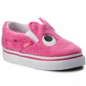 Vans Halbschuhe Slip-On Friend VN0A3TK4U4U (Party Fur) Magenta/True [Outlet]