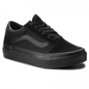Vans Turnschuhe Old Skool VN000W9TENR Blk/Blk [Outlet]