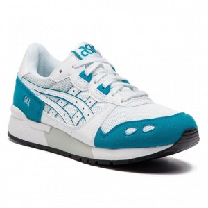 Asics Sneakers TIGER Gel-Lyte 1191A092 White/Teal Blue 102 [Outlet]