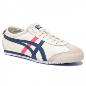 Asics Sneakers ONITSUKA TIGER Mexico 66 1182A078 Cream/Midnight Blue 103 [Outlet]