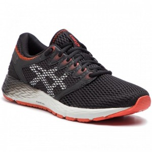 Asics Schuhe RoadHawk FF2 1011A136 Black/Glacier Grey 002 [Outlet]