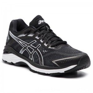 Asics Schuhe GT-2000 7 1011A158 Black/White 001 [Outlet]