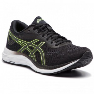 Asics Schuhe Gel-Excite 6 1011A165 Black/Hazard Green 002 [Outlet]