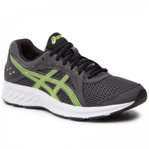 Asics Schuhe Jolt 2 1011A167 Dark Grey/Hazard Green 021 [Outlet]