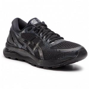 Asics Schuhe Gel-Nimbus 21 1011A169 Black/Black 004 [Outlet]