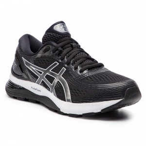 Asics Schuhe Gel-Nimbus 21 1011A172 Black/Dark Grey 001