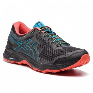 Asics Schuhe Gel-Sonoma 4 1011A177 Black/Island Blue 001 [Outlet]