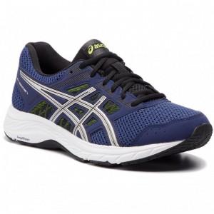 Asics Schuhe Gel-Contend 5 1011A256 Indigo Blue/Silver 401 [Outlet]