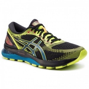 Asics Schuhe Gel-Nimbus 21 Sp 1011A589 Black/Safety Yellow 001 [Outlet]