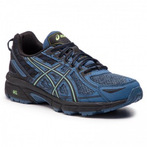 Asics Schuhe Gel-Venture 6 1011A591 Grand Shark/Neon Lime 400 [Outlet]