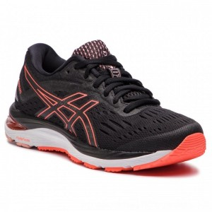 Asics Schuhe Gel-Cumulus 20 1012A008 Black/Flash Coral 002 [Outlet]