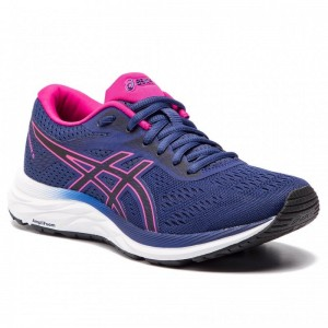 Asics Schuhe Gel-Excite 6 1012A150 Indigo Blue/Pink Rave 400 [Outlet]