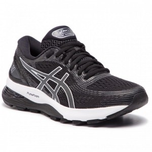 Asics Schuhe Gel-Nimbus 21 1012A156 Black/Dark Grey 001