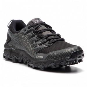 Asics Schuhe Gel-FujiTrabuco 7 G-TX GORE-TEX 1012A190 Black/Dark Grey 001