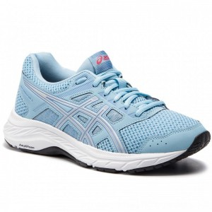 Asics Schuhe Gel-Contend 5 1012A234 Skylight/Silver 400 [Outlet]