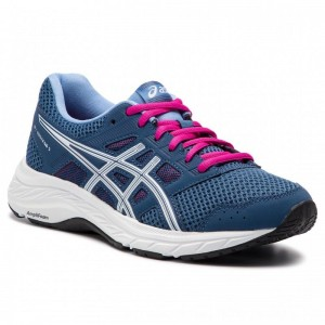 Asics Schuhe Gel-Contend 5 1012A234 Grand Shark/White 401 [Outlet]