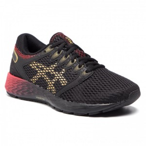 Asics Schuhe RoadHawk FF 2 1012A503 Black/Rich Gold 001 [Outlet]