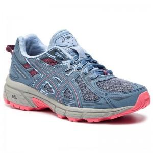 Asics Schuhe Gel-Venture 6 1012A504 Steel Blue/Pink Cameo 400