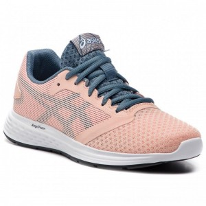 Asics Schuhe Patriot 10 Gs 1014A025 Bakedpink/Steel Blue 700 [Outlet]