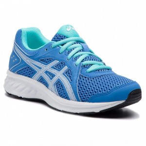Asics Schuhe Jolt 2 Gs 1014A035 Blue Coast/White 403 [Outlet]