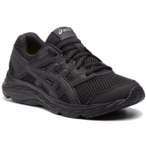 Asics Schuhe Contend 5 Gs 1014A049 Black/Black 020 [Outlet]