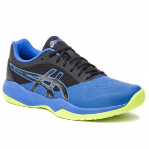 Asics Schuhe Gel-Game 7 1041A042 Black/Illusion Blue 009 [Outlet]