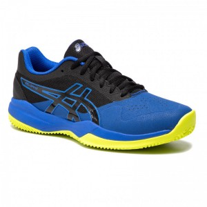 Asics Schuhe Gel-Game 7 Clay/Oc 1041A046 Black/Illusion Blue 009 [Outlet]