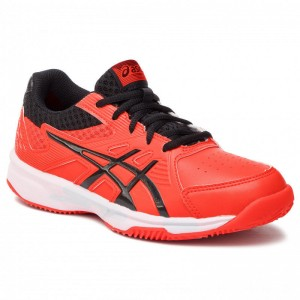 Asics Schuhe Court Slide Clay Gs 1044A006 Cherry Tomato/Black 808