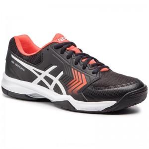 Asics Schuhe Gel-Decicate 5 E707Y Black/Silver 007 [Outlet]