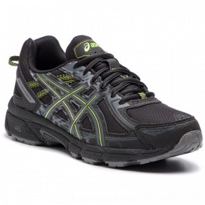 Asics Schuhe Gel-Venture 6 T7G1N Black/Neon Lime 001 [Outlet]