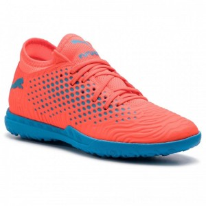 Puma Schuhe Future 19.4 TT 105548 01 Red Blast/Bleu Azur [Outlet]