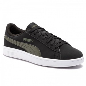 Puma Sneakers Smash V2 Buck 365160 05 Black/Puma Black [Outlet]
