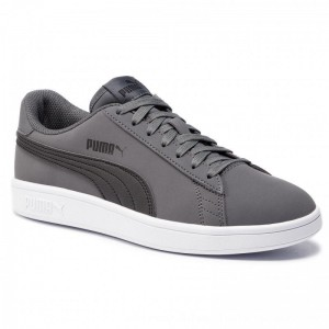 Puma Sneakers Smash V2 Buck 365160 08 Iron Gate/Puma Black [Outlet]