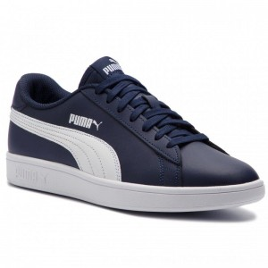 Puma Sneakers Smash V2 L 365215 05 Peacoat/Puma White [Outlet]