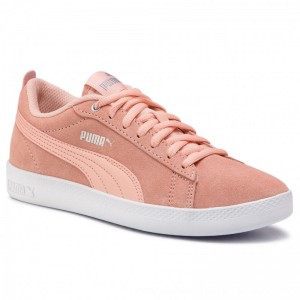 Puma Sneakers Smash Wns V2 Sd 365313 14 Peach Bud/Silver/Puma White [Outlet]