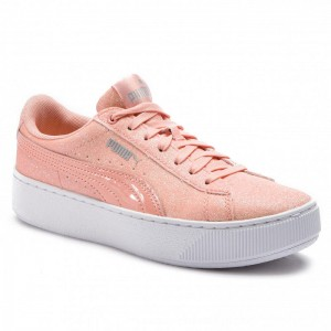 [BLACK FRIDAY] Puma Sneakers Vikky Platform Glitz Jr 366856 04 Peach Bud/Peach Bud