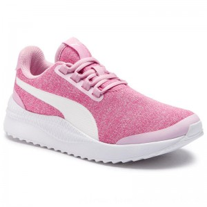 Puma Sneakers Pacer Next FS Knit Jr 368075 09 Pale Pink/Puma White [Outlet]