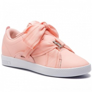 Puma Sneakers Smash Wns Buckle 368081 05 Peach Bud/Bright Peach [Outlet]