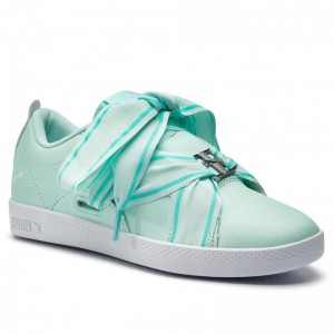 Puma Sneakers Smash Wns Buckle 368081 06 Fair Aqua/Puma White [Outlet]