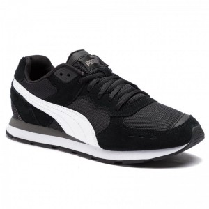 Puma Sneakers Vista 369365 01 Black/White/Charcoal Gray [Outlet]