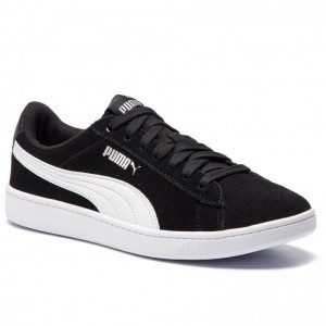 Puma Sneakers Vikky V2 369725 01 Black/Puma White/Silver [Outlet]