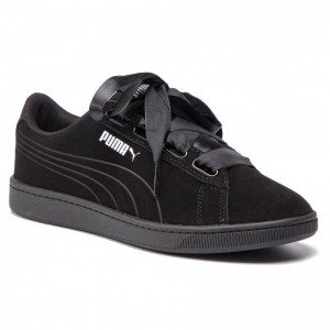 Puma Sneakers Vikky V2 Ribbon S 369726 01 Black/Puma Black/Silver [Outlet]