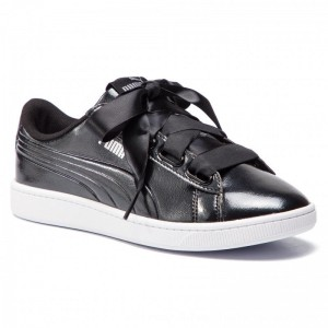 Puma Sneakers Vikky V2 Ribbon P 369727 01 Black/Puma Silver [Outlet]