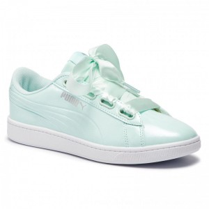 Puma Sneakers Vikky v2 Ribbon P 369727 04 Fair Aqua/Puma Silver [Outlet]
