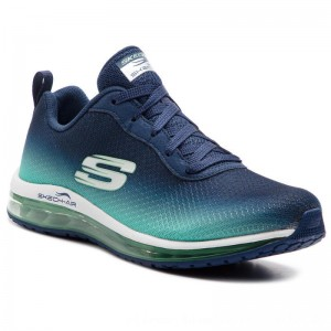 Skechers Schuhe Skech-Air Element 12640/NVGR Navy/Green [Outlet]