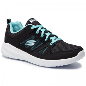 [BLACK FRIDAY] Skechers Schuhe Skybound 12995/BKTQ Black/Turquoise